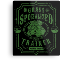 Grass Specialized Trainer Metal Print