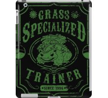 Grass Specialized Trainer iPad Case/Skin