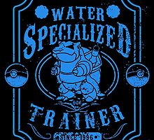 Water Specialized Trainer by tiranocyrus