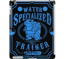 Water Specialized Trainer iPad Case/Skin