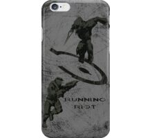 Running Riot - Halo iPhone Case/Skin
