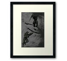 Running Riot  Framed Print