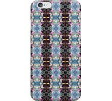 red Malus 'Radiant' crab apple blossoms #13 pattern iPhone Case/Skin