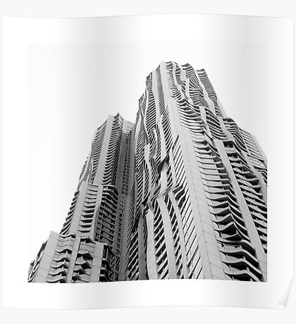 NEW YORK // GEHRY Poster