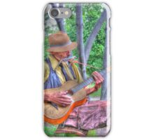 Traveling Troubadour iPhone Case/Skin