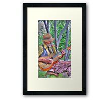Traveling Troubadour Framed Print