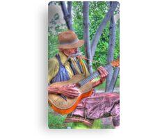 Traveling Troubadour Canvas Print