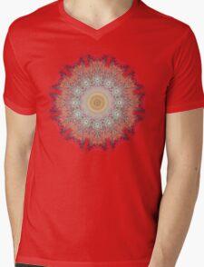 Fractal Mandala Mens V-Neck T-Shirt
