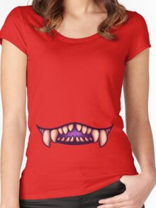 Mouth 2 Women's Fitted Scoop T-Shirt