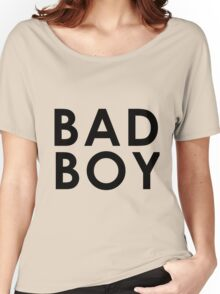 BAD BOY (Black) Women's Relaxed Fit T-Shirt