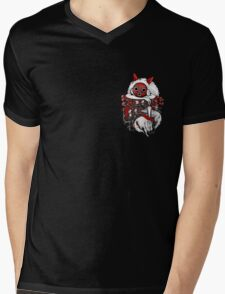 Pocket Hime Mens V-Neck T-Shirt
