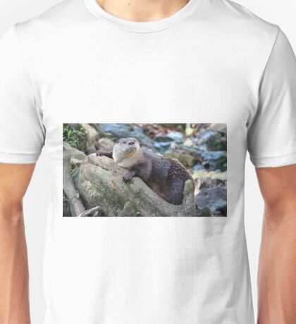 Northern River Otter Unisex T-Shirt
