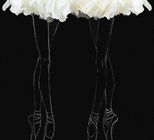En pointes ballerinas by Katharina13