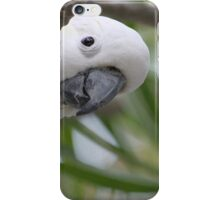 """Hello"" Sulphur-crested Cockatoo iPhone Case/Skin"