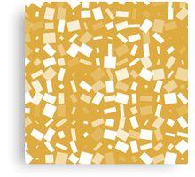 pattern brown Canvas Print