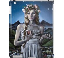 Virgo Girl with Flower Crown iPad Case/Skin