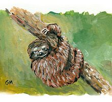 sloth by Gregory Moore