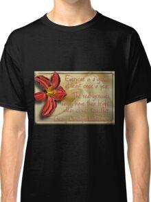 Genius Flower Classic T-Shirt