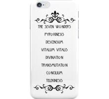 The Seven Wonders iPhone Case/Skin