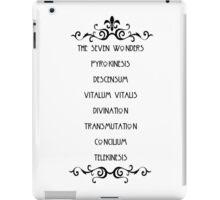 The Seven Wonders iPad Case/Skin