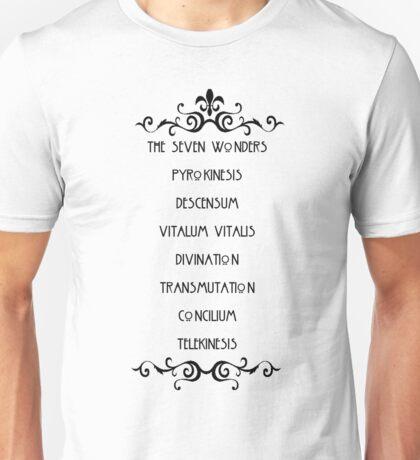 The Seven Wonders Unisex T-Shirt