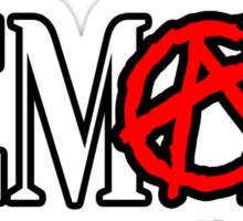ANARCHY!-FEMALE Sticker