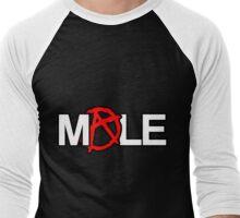 ANARCHY!-MALE Men's Baseball ¾ T-Shirt