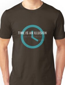 Lunchtime is an illusion Unisex T-Shirt