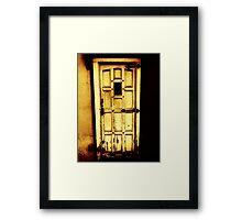 Doors of the World Series #4 Framed Print