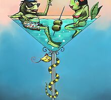 Frog Martini by Dino Turull