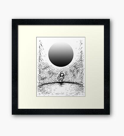 Sound / Fury Framed Print