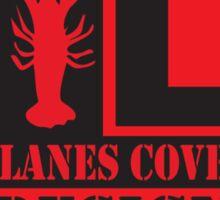Lanes Cove Design bottle cap Sticker