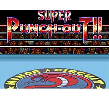 Super Punch-Out!! (SNES Title Screen) Photographic Print