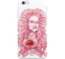 Isaac Newton illustration iPhone Case/Skin