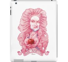 Isaac Newton illustration iPad Case/Skin