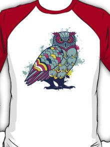 Geometric Owl  T-Shirt