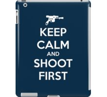 KEEP CALM - Han Shot First iPad Case/Skin