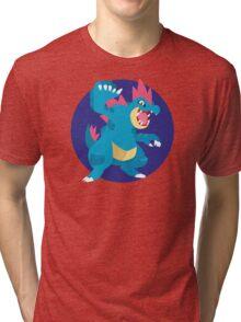Feraligatr - 2nd Gen Tri-blend T-Shirt