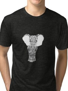 Tribal Elephant Tri-blend T-Shirt