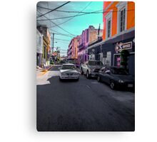Rush Street Canvas Print