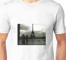 PARIS ON A DULL DAY. Unisex T-Shirt