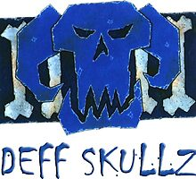 Deff Skullz (Blue team) by Riggy95