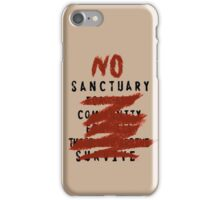 No Sanctuary iPhone Case/Skin