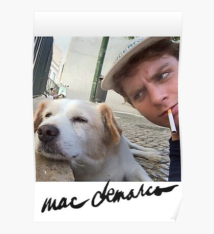 Big Mac with a dog  Poster