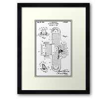 Foot Measuring Instrument Framed Print