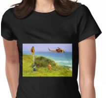 Westpac Rescue 011 Womens Fitted T-Shirt