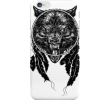 Dreamcatcher Wolf iPhone Case/Skin