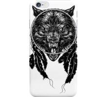 Dreamcatcher Wolf iPhone Case/Skin