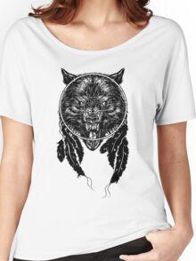 Dreamcatcher Wolf Women's Relaxed Fit T-Shirt