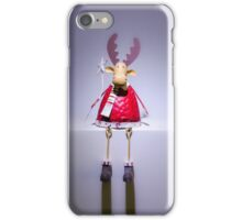 Christmas Reindeer Ornament iPhone Case/Skin